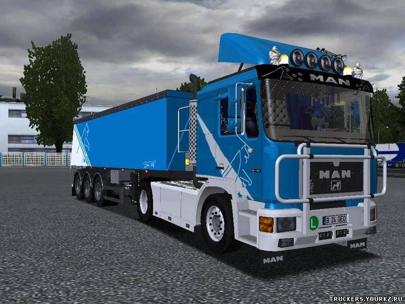 Очень качественная модель краз для german truck simulator